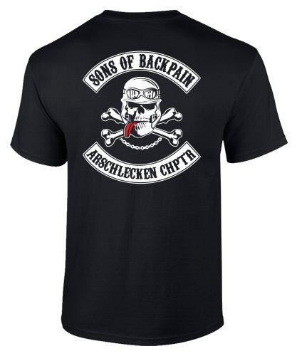 T-Shirt Motorrad Biker SONS OF ARTHROSE ARSCHLECKEN Spruch ibuprofen arthritis